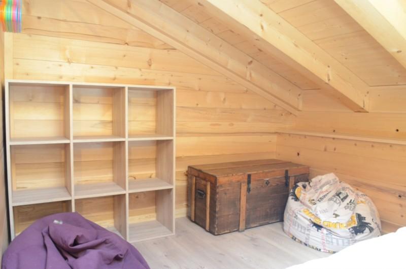 Chalet les sources, chambre 2 lits simples + 1 lit gigogne à l'étage, Châtel Alpes du Nord