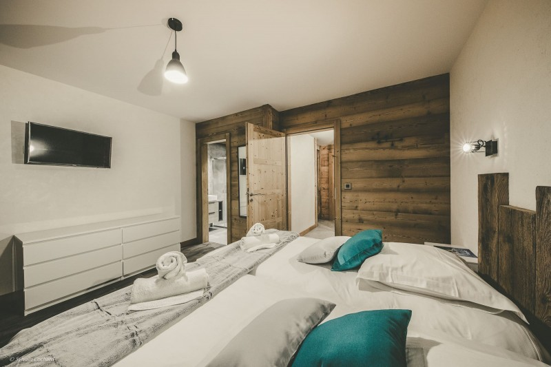 Chalet Whymper chambre double luxe Chatel
