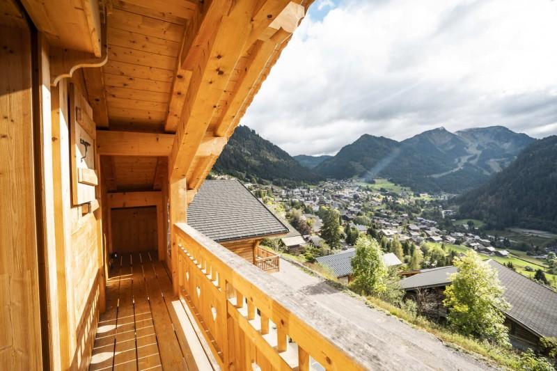 Chatel Etagne Châtel Balcon vue Montagne