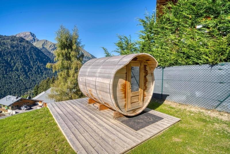 Grand chalet Les Oisillons Châtel Sauna