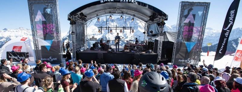 Rock the Pistes festival Les Portes du Soleil Charlie Winston