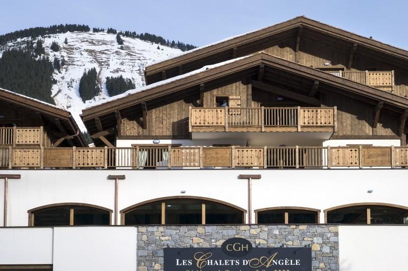 séjour résidence de tourisme Chalets d'Angèle Booking Châtel