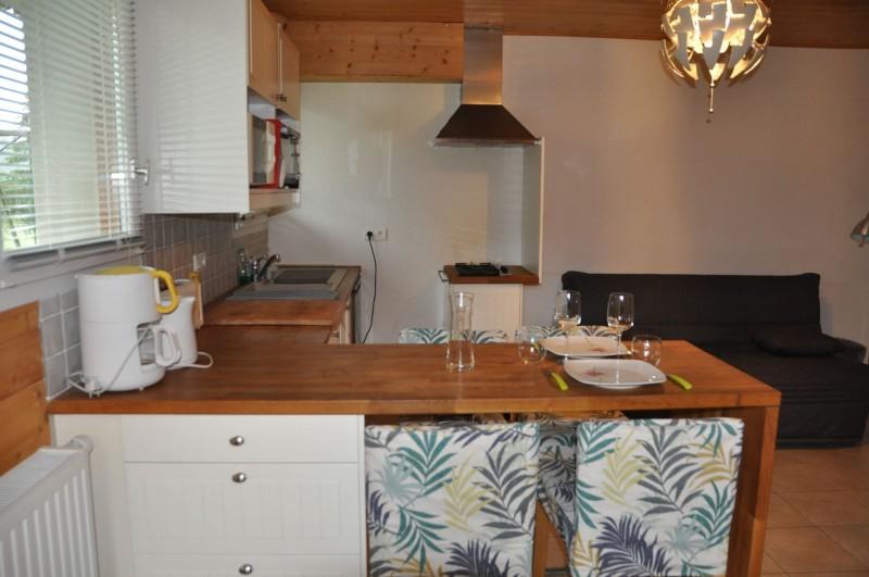 Studio n°4 dans chalet les bouquetins, Cuisine Châtel Montagne